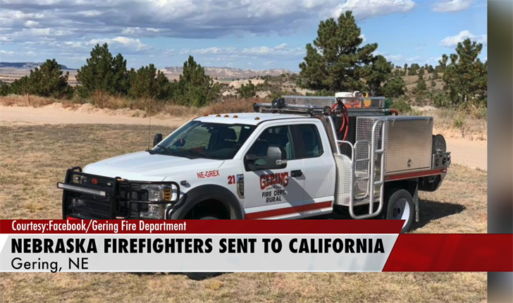 Gering Fire Unit Sent to California to Fight Wildfires