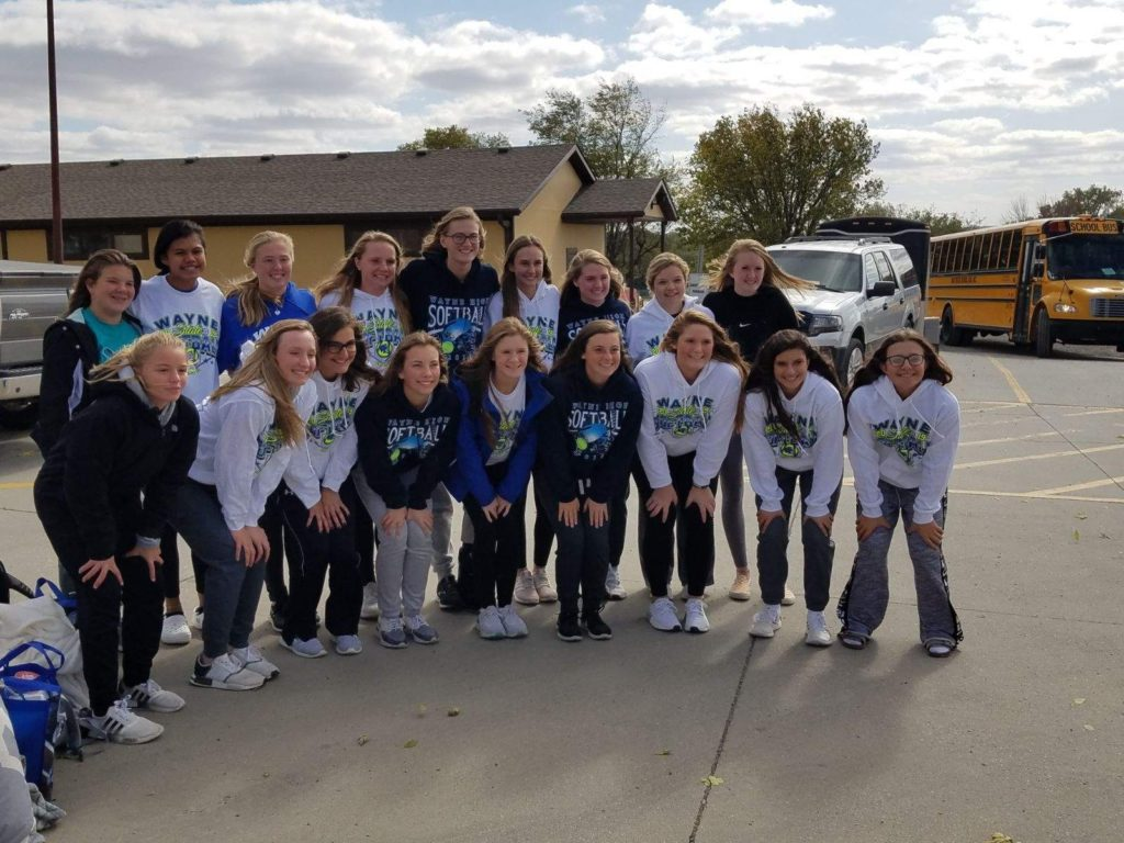 Blue Devil Softball Team Is Hastings Bound, First Round Games Postponed Until 10 AM Due To Frost