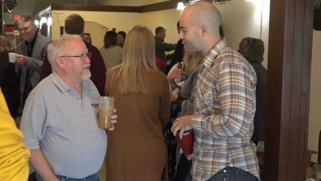 Wayne America Website Celebrates Three Years Since First Post During Chamber Coffee