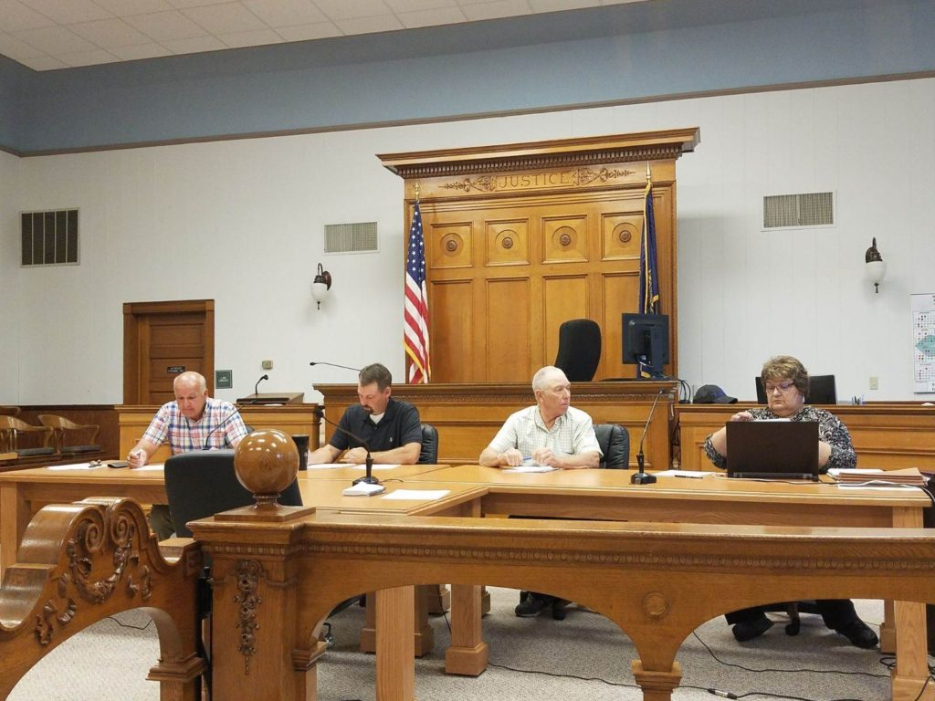 Commissioners Approve Motion For Treasurer's Office To Continue To Make Change, Water Main Discussion