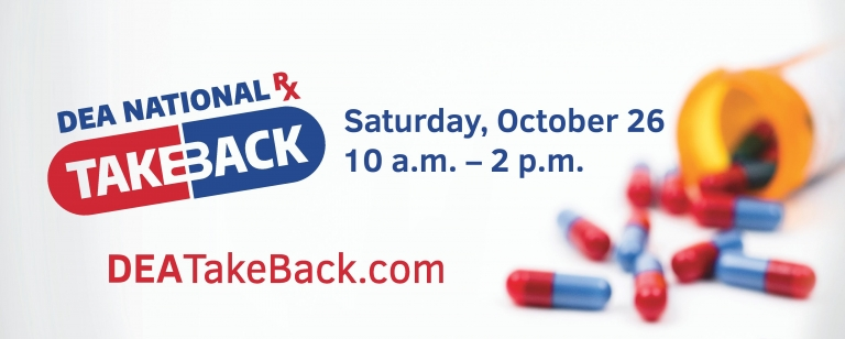 National DEA Drug Take Back Day is This Saturday