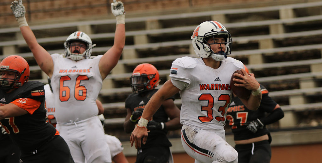 Warriors Roll Past Jimmies for Third Consecutive Win