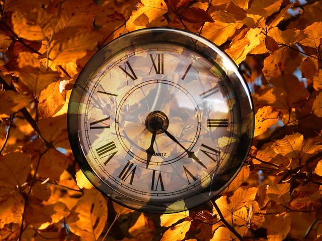 Daylight Saving Time Ends November 3