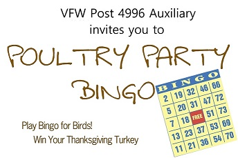 Poultry Party Bingo