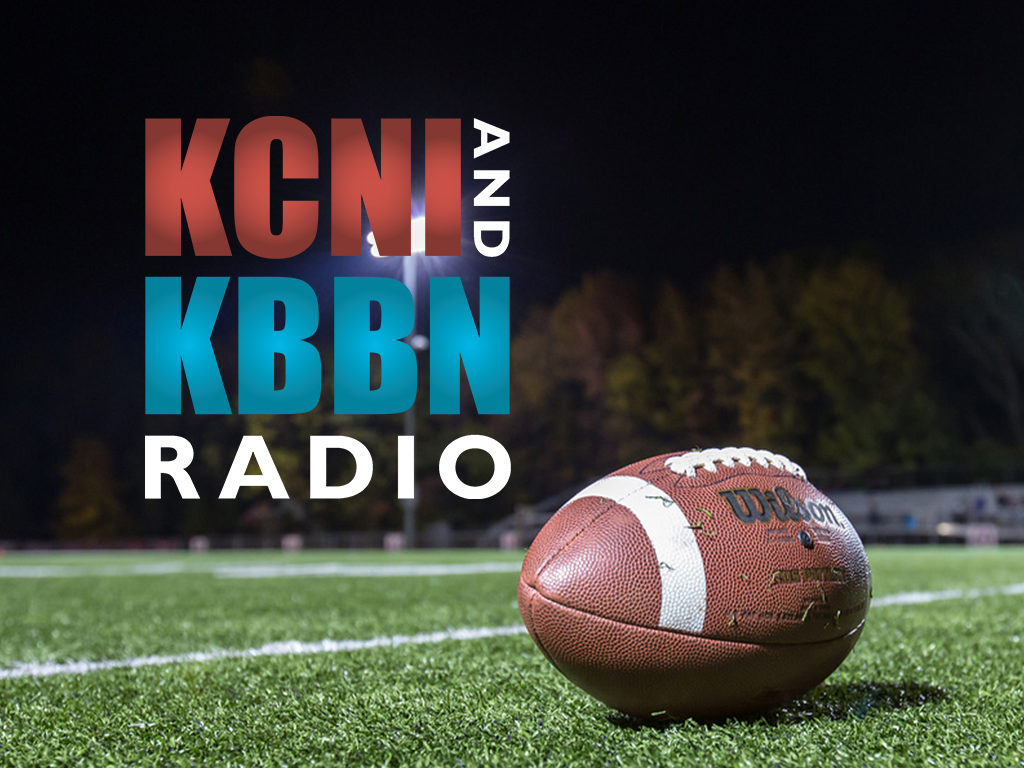 High School Football on KCNI/KBBN – Broken Bow vs Ord (KCNI) – Twin Loup vs Clearwater/Orchard (KBBN)