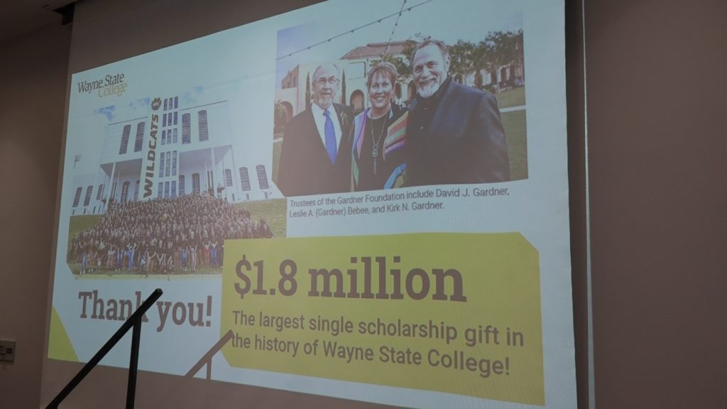 WSC Scholarship Fund, New Indoor Athletic Complex Receives Substantial Gift During Luncheon