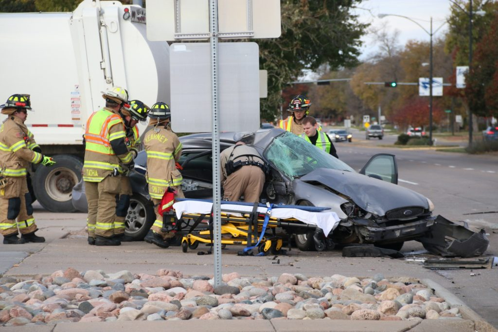 Callaway Man And Teen Involved In Multi-Vehicle Accident In Kearney