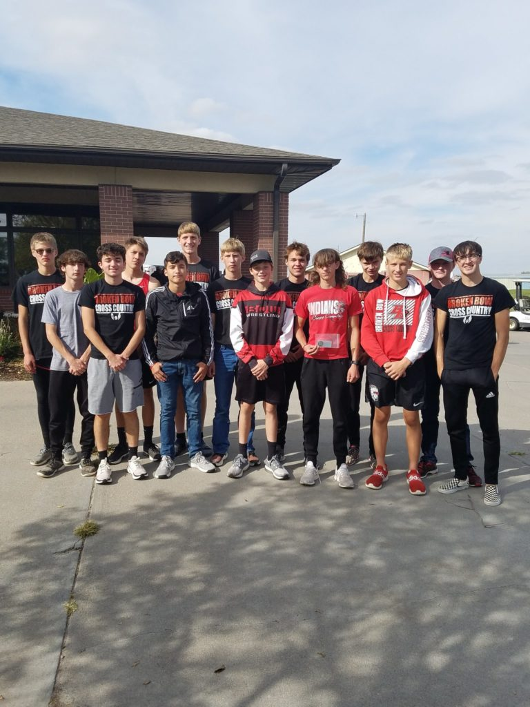 Broken Bow Boys Cross Country Team Claims Runner-up Trophy at SWC