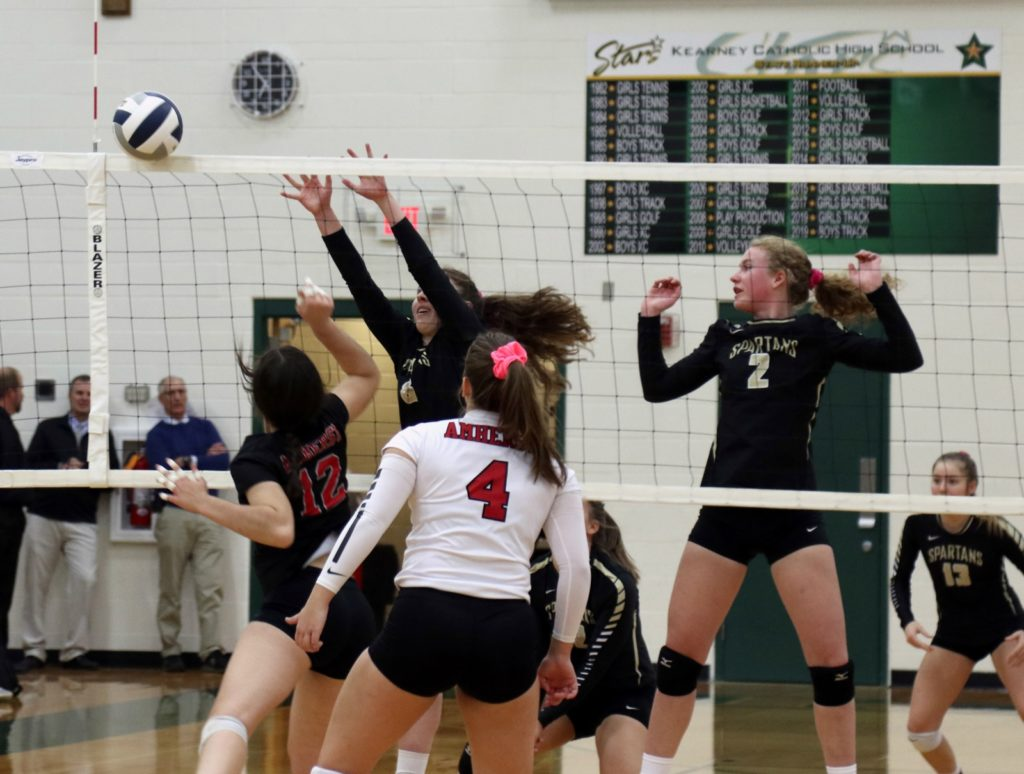 Area Sub District Volleyball Results – 10/28