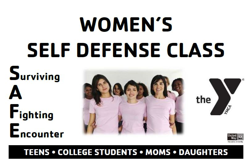 YMCA to Host Free Women's Self-Defense Class