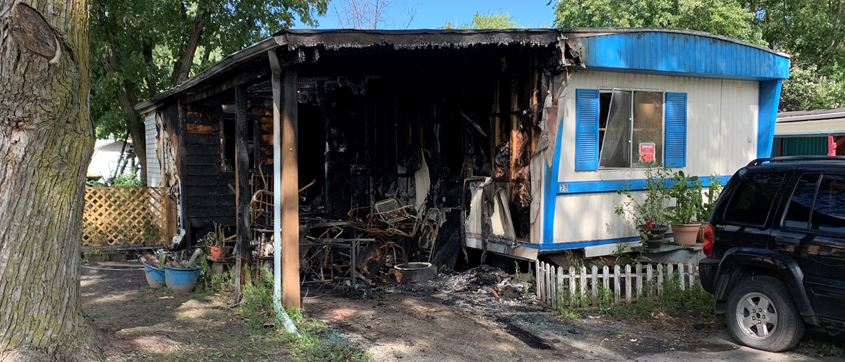 Fremont Fire creates Total Loss