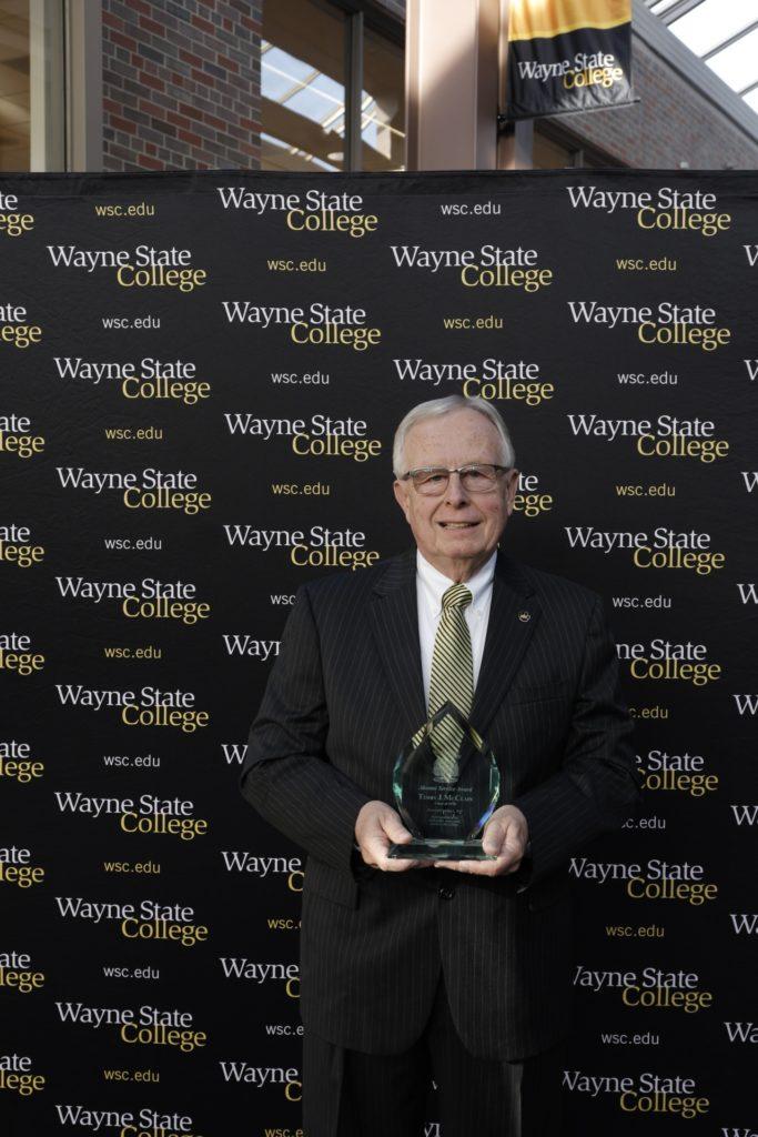 McClain honored at WSC Homecoming