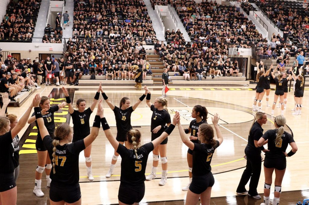 #13 Wayne State Volleyball Takes Care Of Business On Road, Records Fourth Straight Win