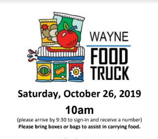 Mobile Food Truck Pantry Returns To Wayne Saturday