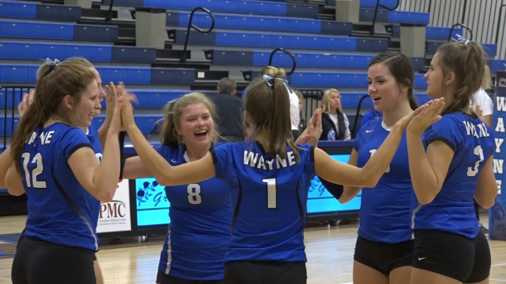 Blue Devils Remain Perfect On Home Court, Sweep Triangular Matches