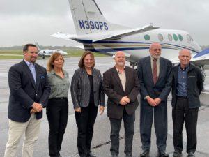 Fremont Aviation, Volunteer Pilots Recognized for Flood Efforts at Special Ceremony