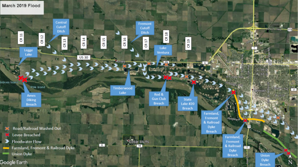 City of Fremont, Ames Diking District Receive HUD Grants for Levee Repairs