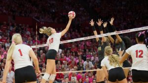 Four Huskers Make AVCA All North Region Team