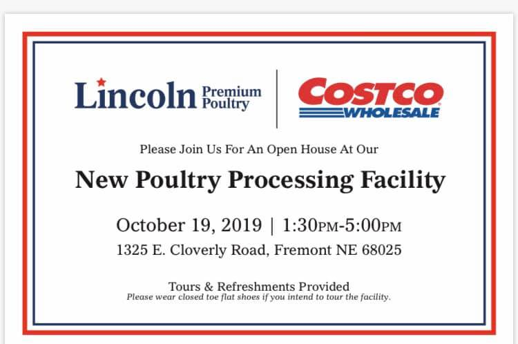 Lincoln Premium Poultry to Offer Tours this Saturday