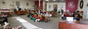 Christmas Decor Shop for Flood Survivors at Keller Williams This Week