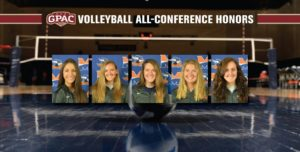Lady Warriors Land Five on Volleyball All-Conference Honor Roll