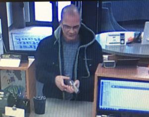 FPD Searching for Suspect After Midday Bank Robbery