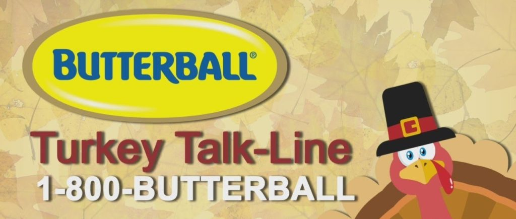 Thanksgiving November 28, Butterball Experts Are Reminding you To Thaw Your Turkey Thursday