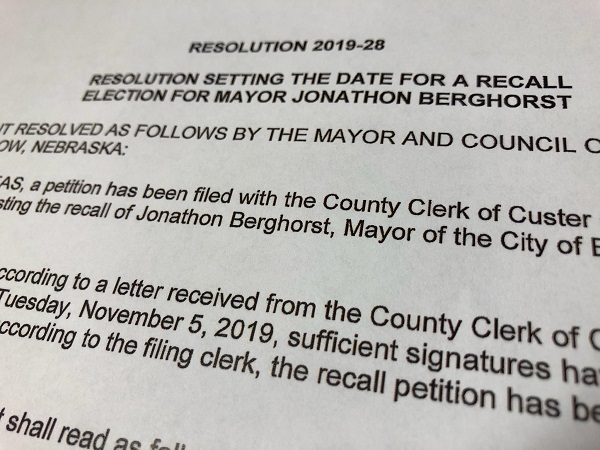 City In Turmoil: Broken Bow City Council And Mayor Continue Feud As Recall Election Resolution Remains Unsigned