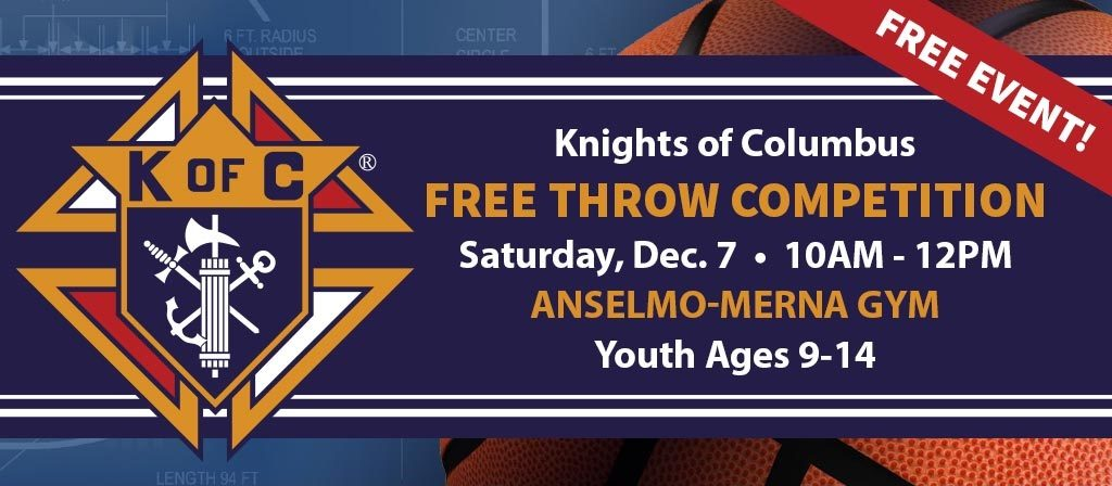 Knights Of Columbus Free Throw Competition December 7