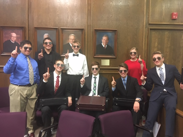 Wayne's Mock Trial Team Advances To Semifinal Round
