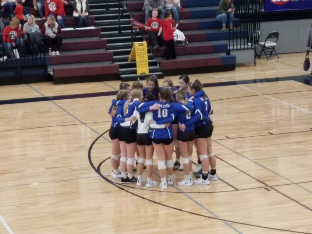 Blue Devil Volleyball Ends 10-Set Losing Streak At State, Broken Bow Wins In Four