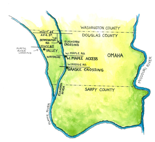 Elkhorn River access points shut down until next year