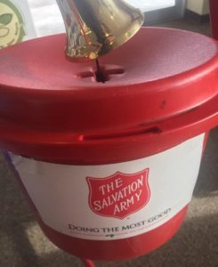 Red Kettles Can Be Found In Several Wayne Businesses, Salvation Army Bell Ringers At Others Beginning This Weekend