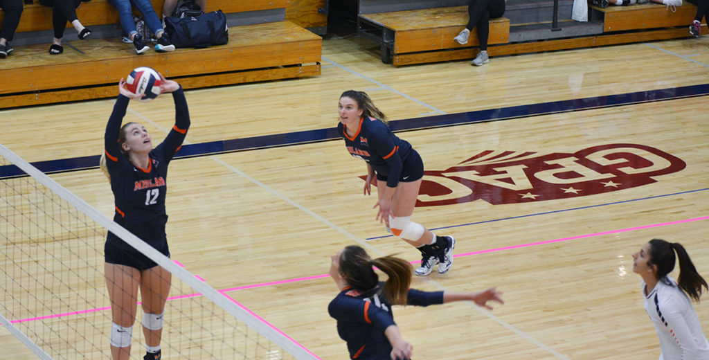 No. 21 Lady Warriors Fall to Red-Hot Flames in GPAC Semifinals