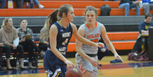 Lady Warriors Earn First Conference Win at CSM