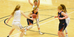 Lady Warriors Upset No. 18 Tabor; Hansen Reaches 1,000 Points