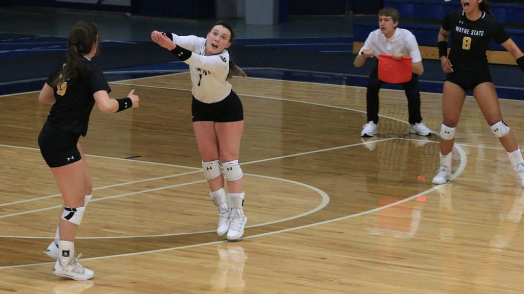 Wildcat Volleyball Sweeps Top 10 Opponent On The Road