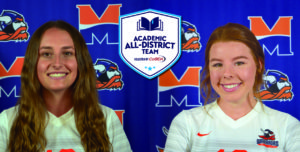 Farrell and Melanson Named to Academic All-District Team