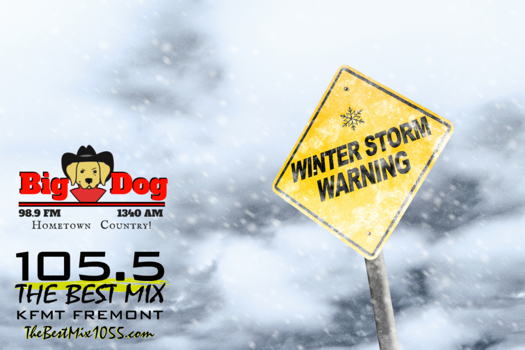 Dodge County Upgraded to Winter Storm Warning