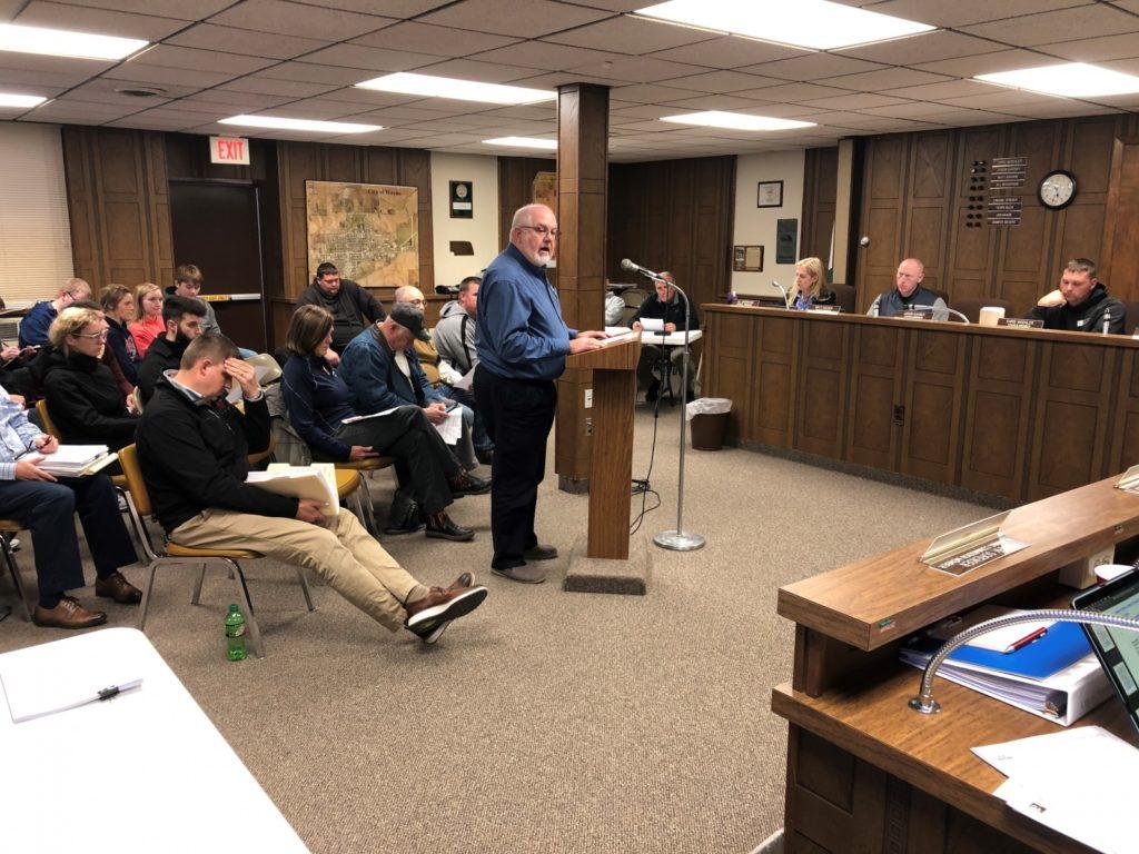 Wayne City Council Meeting Tuesday Night