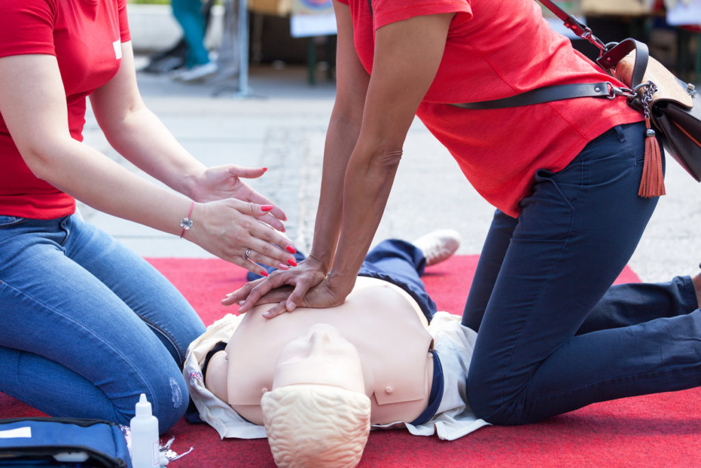 CPR and First Aid Classes Scheduled for November 14