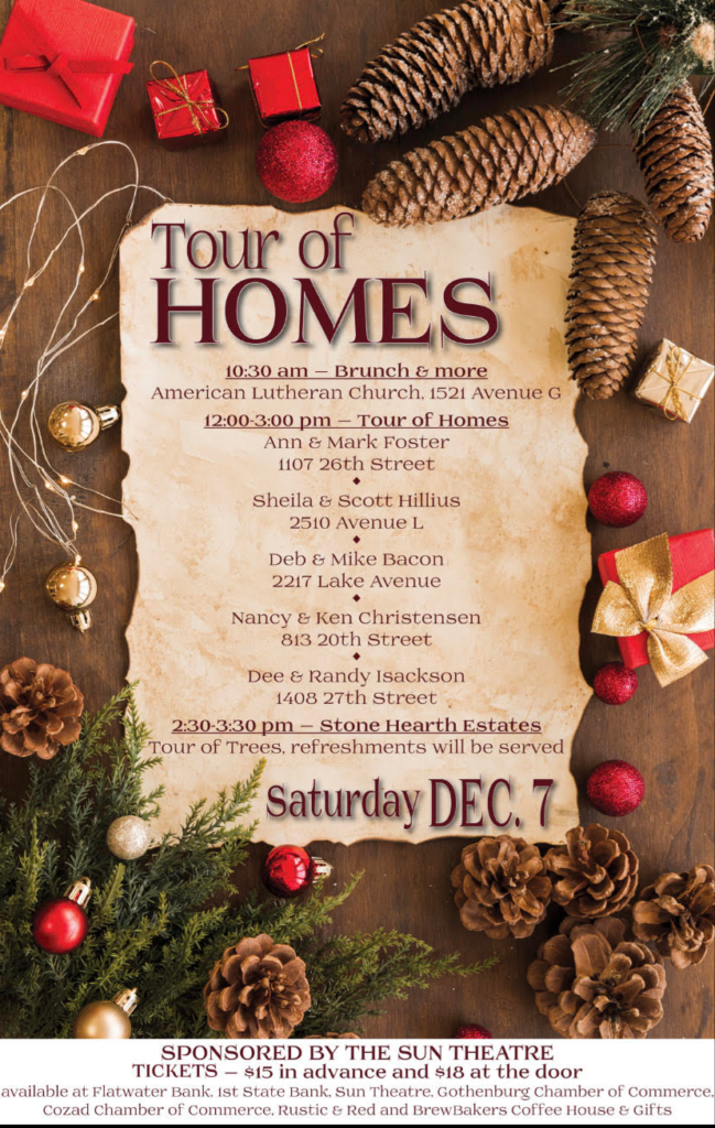 Gothenburg Annual Holiday Tour Of Homes December 7