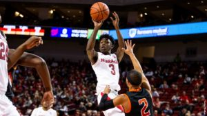 Huskers Return Home to Host Indiana