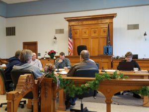 Three Items Tabled During Commissioners Meeting, County Pays Off Series 2014 Bond