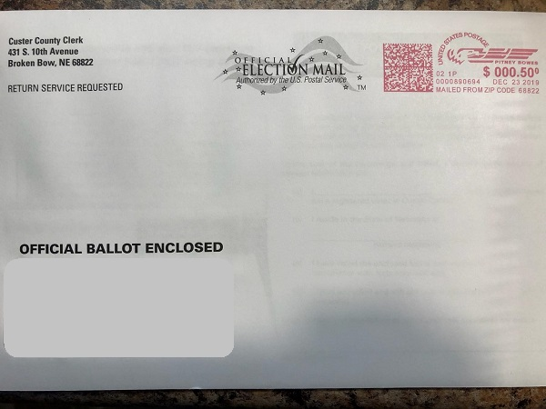 Recall Election Ballot Deadline January 14