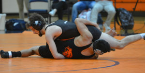 Men's Wrestling Competes in Doane Open