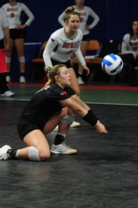 Sanger Secures First All-American Honors For Northeast Community College Volleyball Program