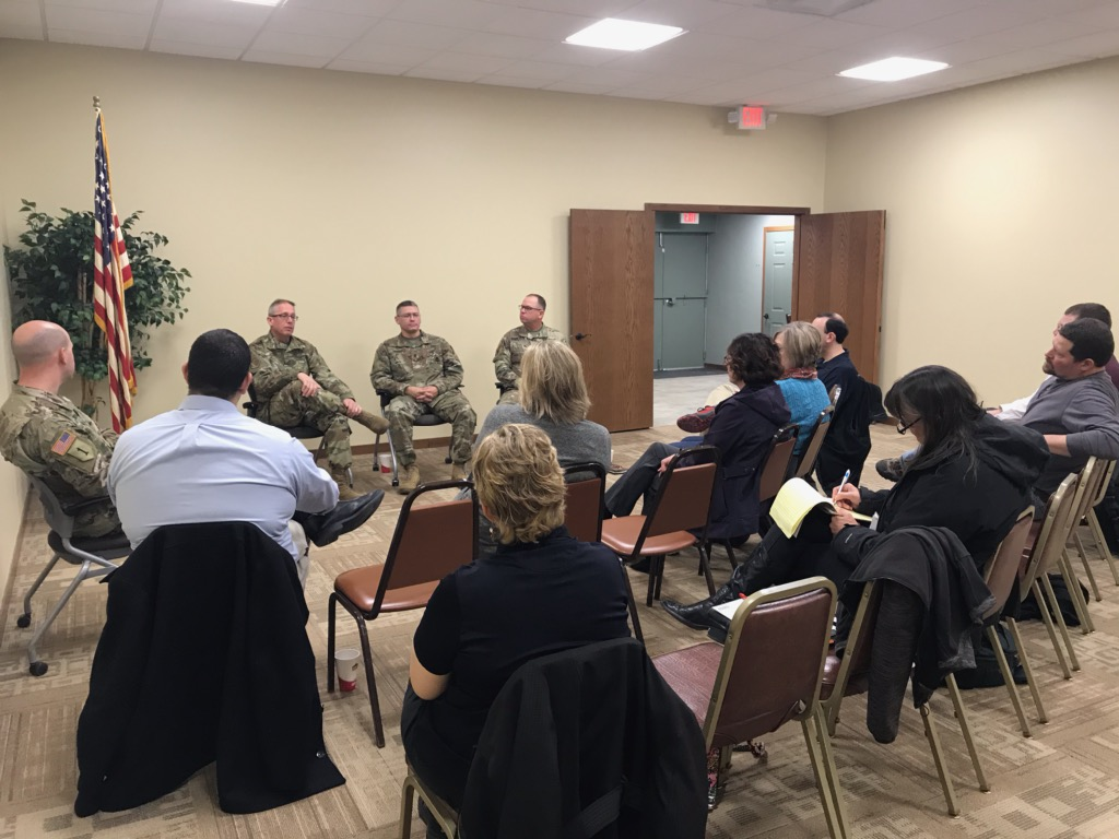 Neb. Army Natl. Guard Discusses Importance of Relationship with Local Communities