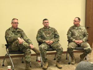 Nebraska Army National Guard Major General Visits Custer County