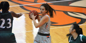 Lady Warriors Drop Conference Game at No. 5 Dordt